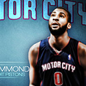 Andre Drummond Pistons Wallpaper